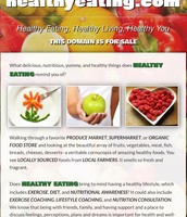 Healthy eating page!
