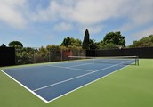 Unwind on your own private tennis court!