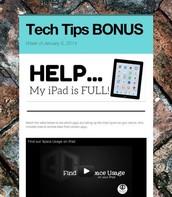 HELP...My iPad is FULL!