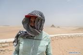 Sandstorm in Cairo