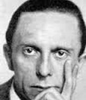 Joseph Goebbles face