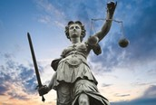 Here are some pictures of Lady Justice