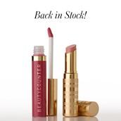 Dahlia Lip Gloss and Terra Lip Sheer