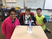 Renise, Vance, and Mason had a strong column