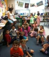 Art class with Mrs. McReynolds