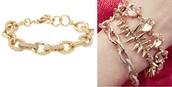 Christina Link Gold Bracelet Reg $49 -50% sale $25