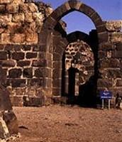 אחוזת שושנה: כוכב הירדן, המבצר מהתקופה הצלבנית, שער חי מערבי