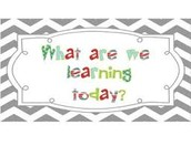 This Week's Learning