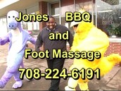 Jones Barbecue and Foot Massage