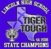 Tiger Tough T-shirt (front)