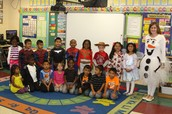Mrs. Dempsey and her Kindergarten