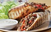 Shawarma in lafa
