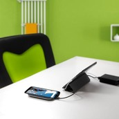 The introduction of wireless chargers, that eliminate the utilization of wires.