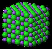 Molecules of a Solid!