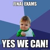 Exams Start Tomorrow!