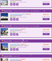 Christmas Deals on Bournemouth hotels booking