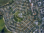 What suburban areas look like