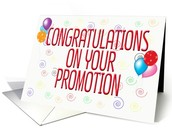 Congratulations on your promotions
