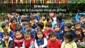 LA CELEBRACIÓN DE EDUCACIÓN INICIAL EN EL PERU