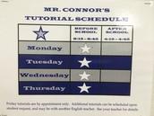 Coach Connor's Tutorials