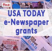 Classroom Newspaper Subscription Grants from USA Today