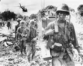 Vietnam War Soliders.