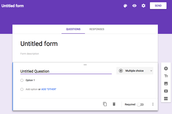 Tutorial on Google Forms New Look