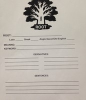 #9 VOCABULARY STUDENT NOTEBOOK (ROOT)