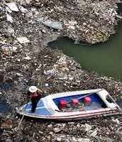 This is what the landfills look like and if we don't stop it.It will come back to us