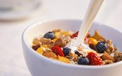 Healthy Cereal with Fruits