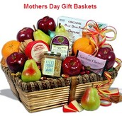 Send Fresh As Well As Prompt Mothers Day Gift Baskets Making Her Day
