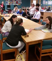 Teachers Collaborate During Meetings
