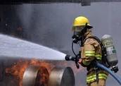 Service de pompier.