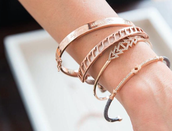 Inspiration, Inspire, Pave triangle, and Resilience bracelets: $81 with 3 codes