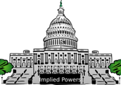 What are implied powers of congress?