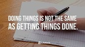 Get thing done