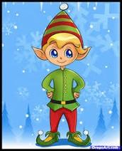 We are NPES!! (short for North Pole Elves Association)