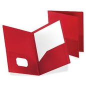 Popcorn Words & Red Folder