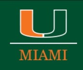 University of Miami: in Coral Gables FL