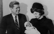 Kennedy and his Wife and child
