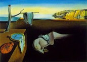 The persistence memory by Salvador Dali