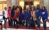 """Carson staff played games and celebrated the """"12 Days of Christmas!"""""""