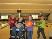 Bowling with Credit Unions and Miracle Kids