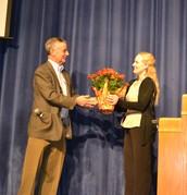 Door Prize winner