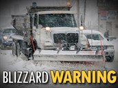 Blizzard warning!