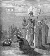 בת פרעה לוקחת את משה מהמים