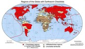 Map of Earthworm Distribution
