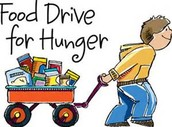 Food Drive and Book Drive!!!