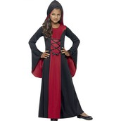 Girls Hooded Vampire costume