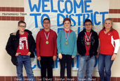 UIL Mathematics Team Win in District